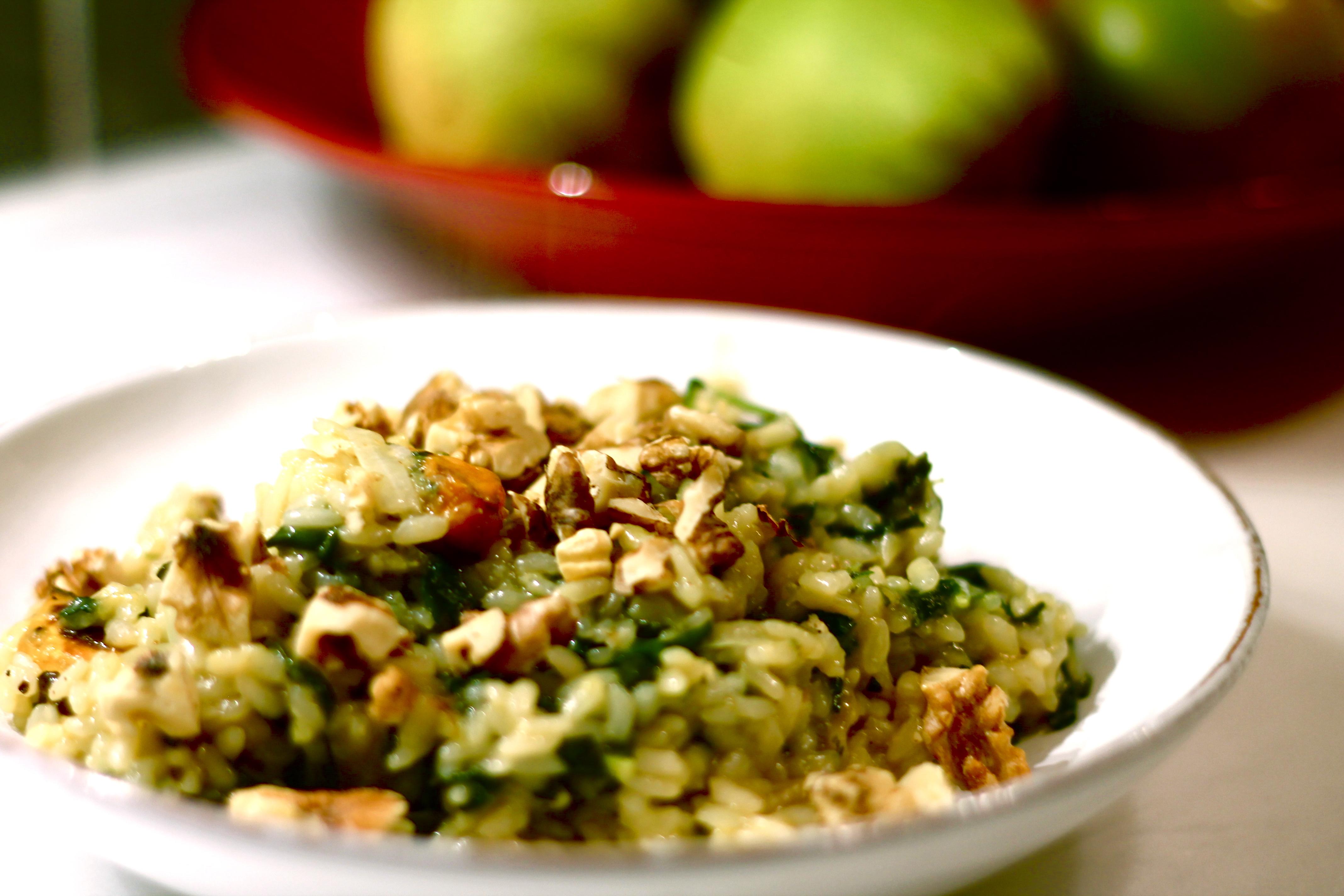 Basic Veggie Risotto Recipe — Dishmaps
